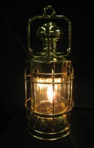 Restored Coachlamp