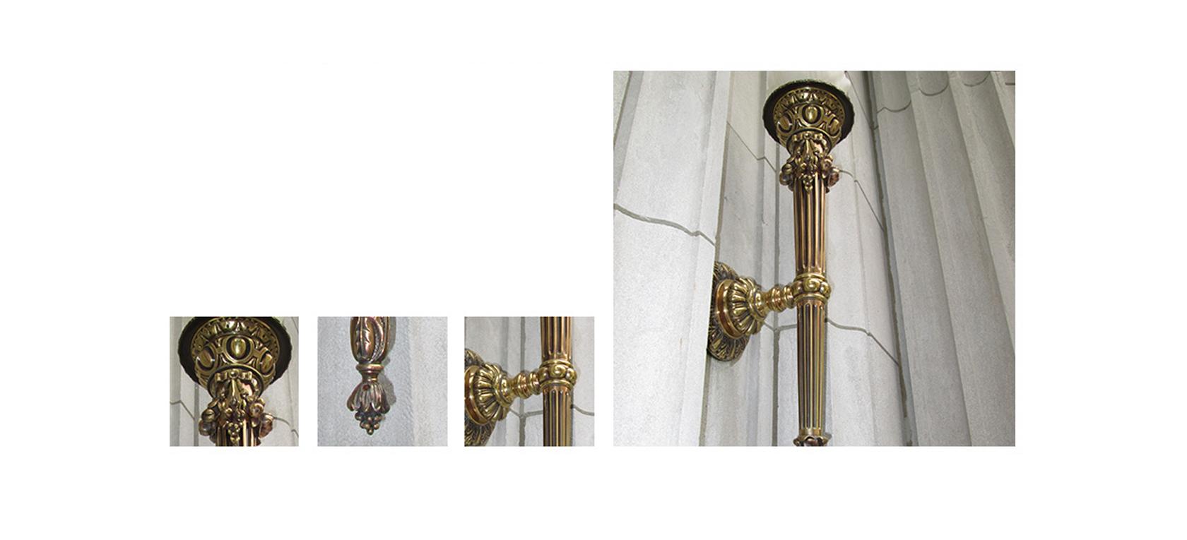 Polished Antique Brass