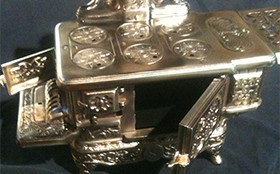brushed antique nickel