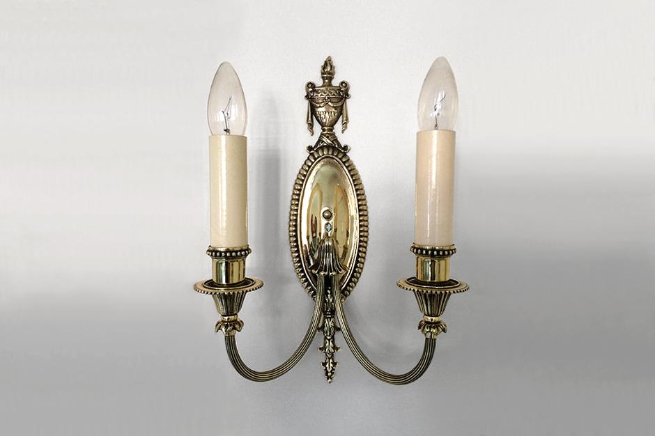 Lighting Restoration - Acme Brass