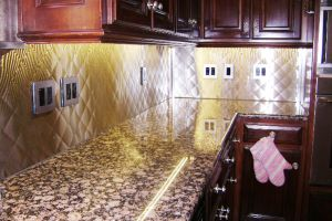 Elegant Counter Backsplash