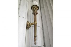 Outdoor Lighting Brass Fixture