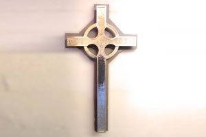 Refinished Brass Cross